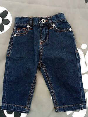 seed baby jeans pants boys girls size 00 (3-6 months)
