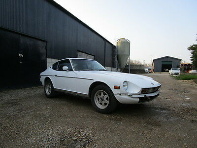 Datsun 280z 1977  LHD  2 Seater Coupe Project 74k miles   RUNNING CAR