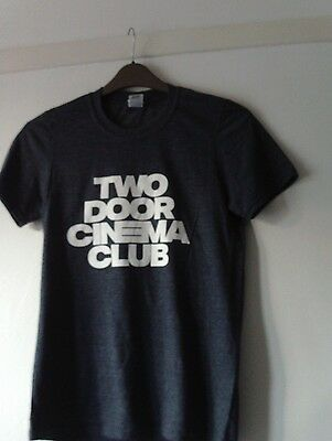Two Door Cinema Club New Large T Shirt Chest 38 Inches Grey Free Uk Post