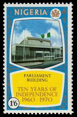 """NIGERIA 248 (SG253) - Independence """"Parliament Building"""" (pa25018)"""