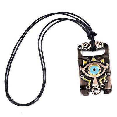 The Legend of Zelda Sheikah Slate Breath of the Wild Metal Punk Necklace Pendant
