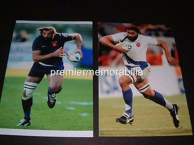 Sebastien Chabal The Caveman French Rugby Union Legend Photographs