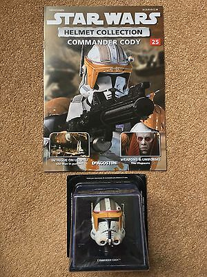 Star Wars Collection Issue 25 Commander Cody DeAgostini Helmet And Magazine