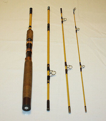 "Wright McGill Eagle Claw Trailmaster 6ft 6""  Fly / Spin Fishing Rod"