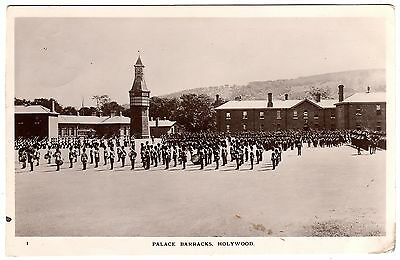 Real Photo Postcard Royal Scots Guards-Palace Barracks-Holywood-Co. Down 1915