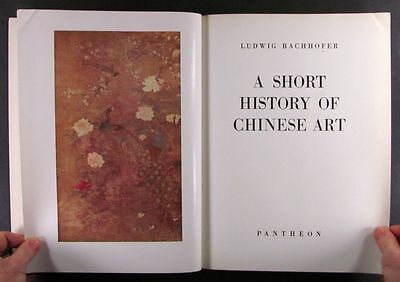 Antique Chinese Painting Sculpture Bronzes - Great Book by Bachhofer