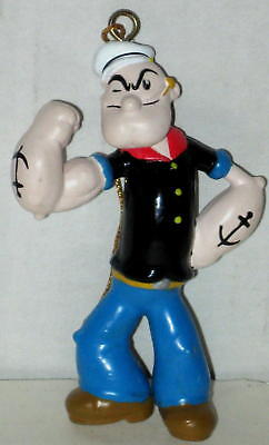 "Popeye Figural Christmas Ornament Approx 4"" MIB   FREE Shipping"