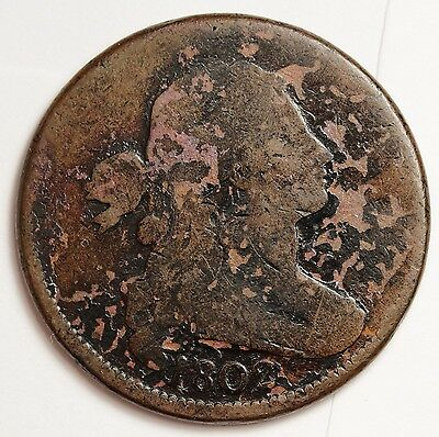 1802 Large Cent.  Full Date.  107369