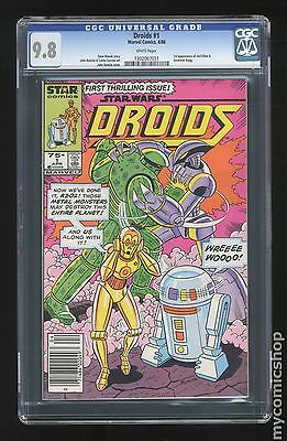 Star Wars Droids (1986 1st Series Marvel/Star Comics) #1 CGC 9.8 1302067011