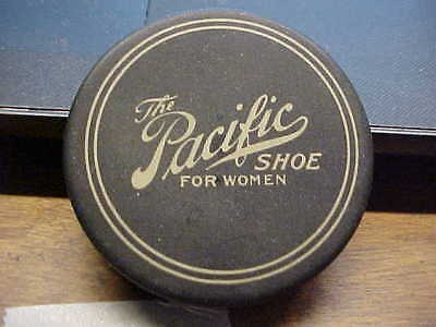 The PACIFIC SHOE FOR WOMEN Advertising Pocket Mirror Compact