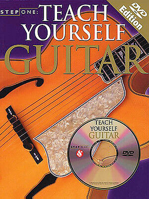 Teach Yourself Guitar Beginner Lessons Learn to Play Video Tab Book DVD Pack NEW