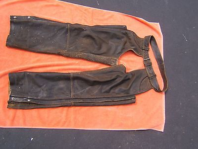 Harley Davidson Billings Leather Chaps Large