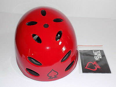 Pro-Tec  Helmet Ace Water Jr. Medium Red 51-52 cm