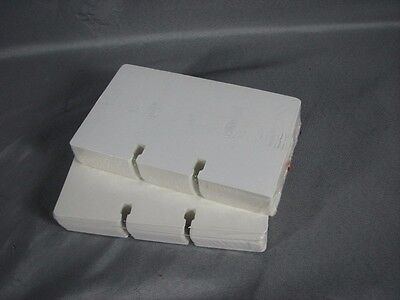 "NEW 200 White Rotary File 3"" x 5"" Refill Cards New Sealed Fits Rolodex SEALED"