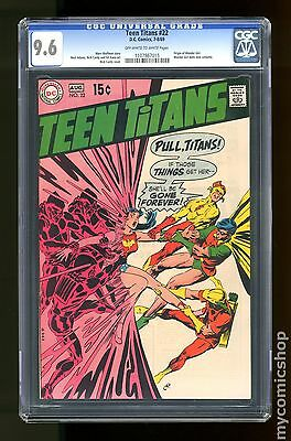 Teen Titans (1966 1st Series) #22 CGC 9.6 1107867015