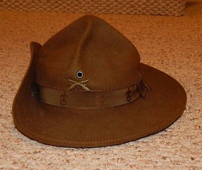 RARE 1920's or 30's Boy Scout BSA Scout Master Scout Leader Hat