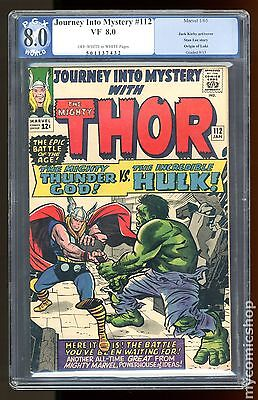 Thor (1962-1996 1st Series Journey Into Mystery) #112 PGX 8.0