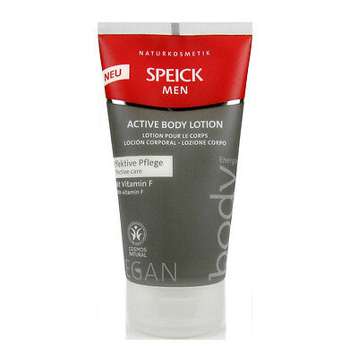 (4,59/100ml)Speick Men Aktiv Body Lotion effektiv Pflege vegan 150 ml