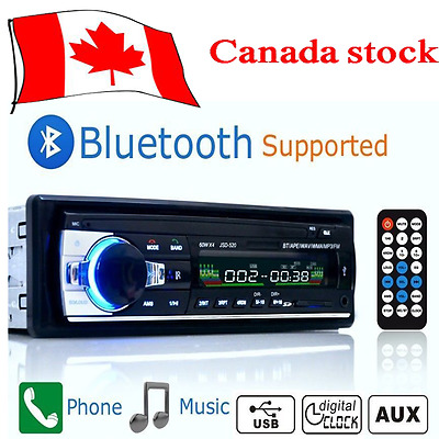 Bluetooth Car Autoradio Stereo MP3/USB/SD/AUX-IN FM Radio Player Amplifier CAN