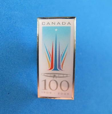 Canada 100 Years of Avaition 1909-2009 Pin Badge