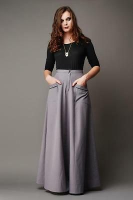 Deer And Doe Sewing Pattern Misses' Fumeterre Maxi Skirt Size 34 To 46