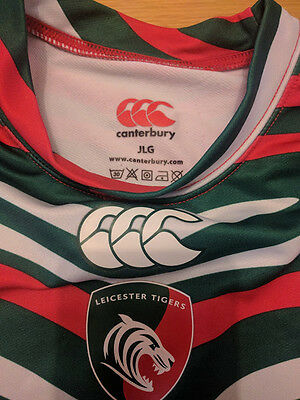 Canterbury Leicester Tigers Large Boys Baselayer Longsleeve