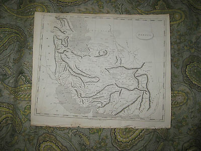 Antique 1805 Persia Middle East Iran Iraq Copperplate Arrowsmith Map Superb Nr
