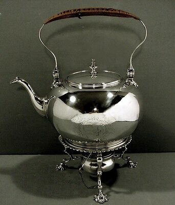 English Sterling Teapot & Stand     1746         Elizabeth Godfrey
