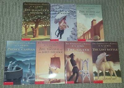 COMPLETE SET (1-7) THE CHRONICLES OF NARNIA by C.S. Lewis