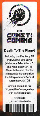 """The Comet Is Coming – Death To The Planet RSD Record Store Day 2017 NEW 12"""""""