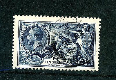 Great Britain  1934  10s  Seahorse (SG 452) very fine used    (J638)