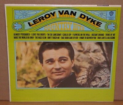 Leroy Van Dyke Country Hits SEALED NEW vinyl LP record Warner Bros 1652 MONO