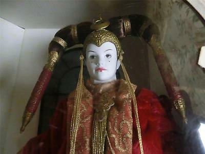 Star Wars Episode 1 Collector Doll Queen  Amidala 1999 Brand New In Box