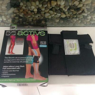 Be Active Pressure Point Adjustable Wrap Back Pain Relief Lower Back One Size LC