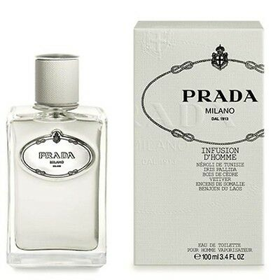 PRADA INFUSION D'HOMME - Colonia / Perfume EDT 100 mL - Hombre / Uomo / Man