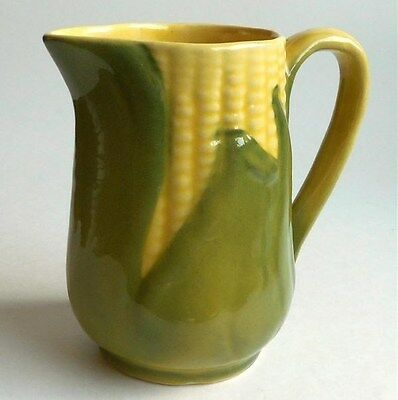 "Vintage Shawnee Pottery #70 Corn Pitcher 4 5/8"" Tall Creamer"