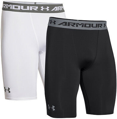 Under Armour Mens HeatGear Armour Compression Long Shorts