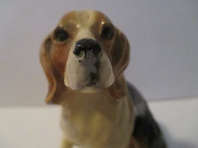Vintage Collectible Beagle Dog Figurine Made in USA