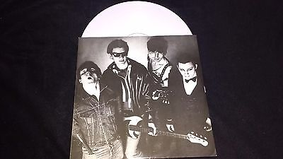 "THE DAMNED - New Rose - 12"" Vinyl Single *White Vinyl* *Picture Cover* *BUYIT 6*"