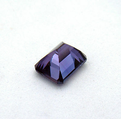 Faceted Loose Russian Lab Alexandrite Gemstone 2.05 ct 9x7 mm Emerald Jewelry TV