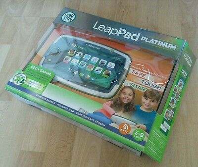 Leapfrog Leappad Platinum in green with new case  and accessories BOXED