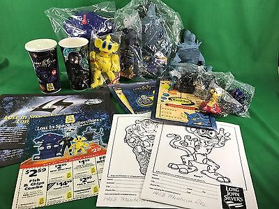 1997 Long John Silver's Lost In Space Movie Kids Toy Premiums & Puppets