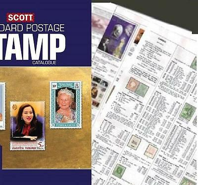 Spanish Morocco 2017 Scott Catalogue Pages 501-510