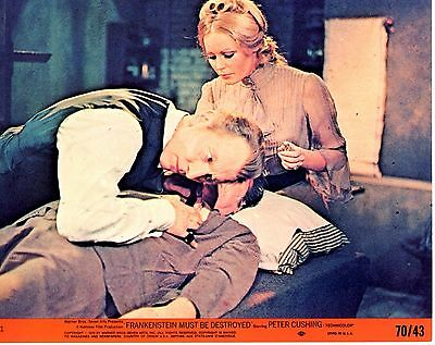 FRANKENSTEIN MUST BE DESTROYED Peter Cushing Veronica Carlson  LC#1 Near Mint