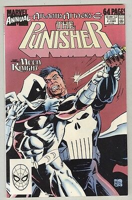 Punisher: Annual #2 VF 1989 Moon Knight