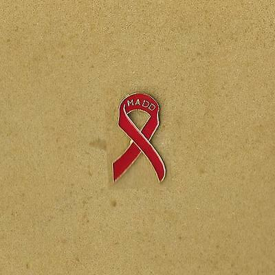 Breast Cancer Red Madd Ribbon Pin