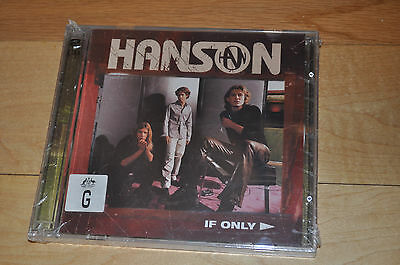RARE SEALED Hanson If Only 5 Track CD1 from Australia