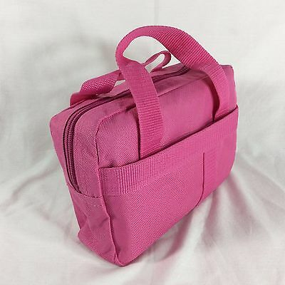 Pink Fabric LDS Scripture Case Standard Size Mormon Quad Tote Carrying Bag