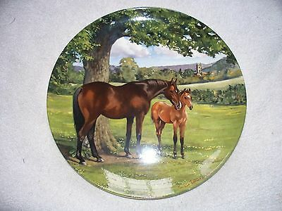 Spode Noble Horse English Thoroughbred Susie Whitcombe Collector Plate