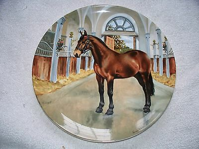 Spode Noble Horse Cleveland Bay Susie Whitcombe Collector Plate